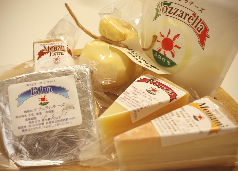 日向牧場チーズ